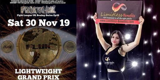 FLUK 26 lightweight Grand Prix Boxing with Limitless Benefits Ring Girls