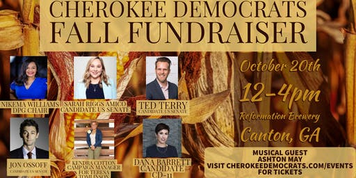 Cherokee Democrats Fall Fundraiser