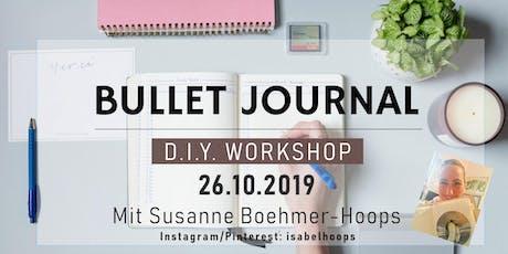 Bullet Journal Workshop Tickets