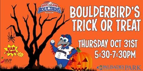 BoulderBird's Trick-or-Treat tickets