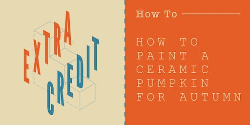 How to Paint Ceramic Pumpkins for Autumn