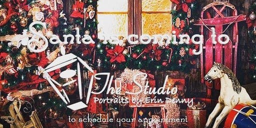 Santa at the Studio