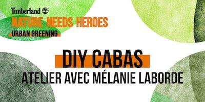 Atelier DIY Cabas avec Mélanie Laborde