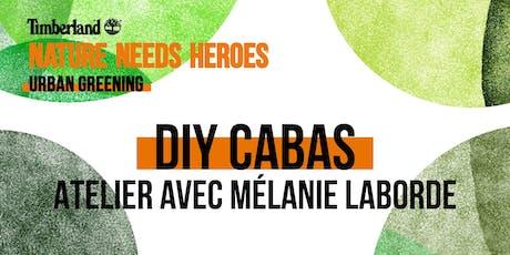 Atelier DIY Cabas avec Mélanie Laborde billets