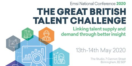 Emsi UK National Conference 2020 - The Great British Talent Challenge tickets