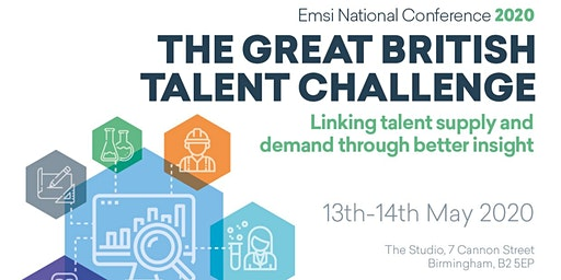 Emsi UK National Conference 2020 - The Great British Talent Challenge