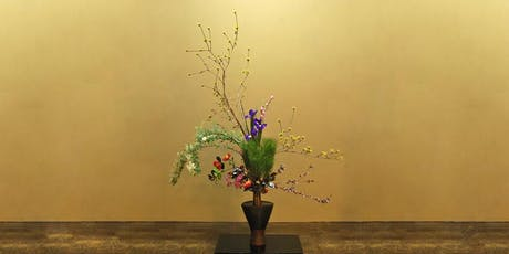 Christmas Ikebana - Japanese Flower Arranging Class £45 (inc Hot Meal) tickets