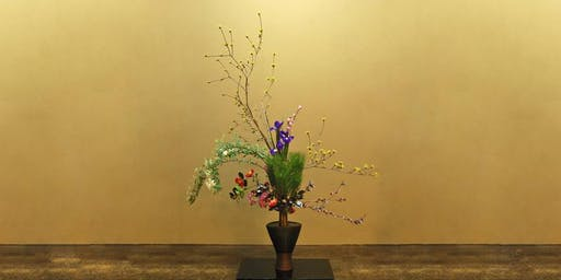 Christmas Ikebana - Japanese Flower Arranging Class £45 (inc Hot Meal)