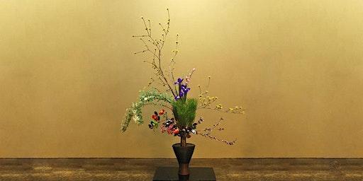 Christmas Ikebana - Japanese Flower Arranging Class £45 (inc Hot Meal)