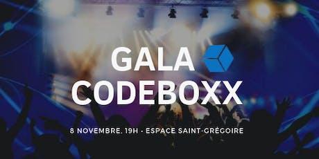 Gala CodeBoxx billets