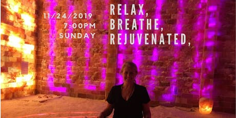 The Cure for Everything Is Salt: Breathwork in the Salt Cave tickets