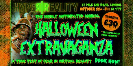 Hyper Reality Presents - Halloween Extravaganza tickets