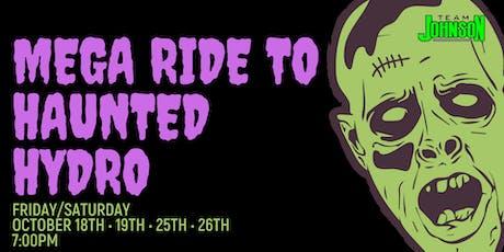 Team Johnson's Mega Ride to Haunted Hydro tickets