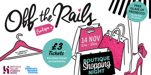 Off the Rails Boutique Shopping Night