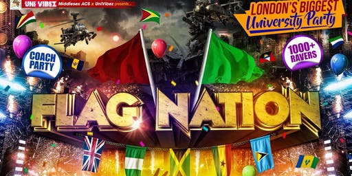FLAG NATION - MDX HOUSE