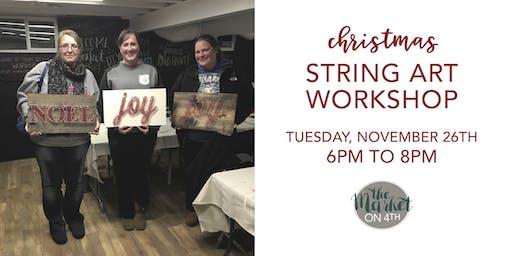 Christmas String Art Workshop