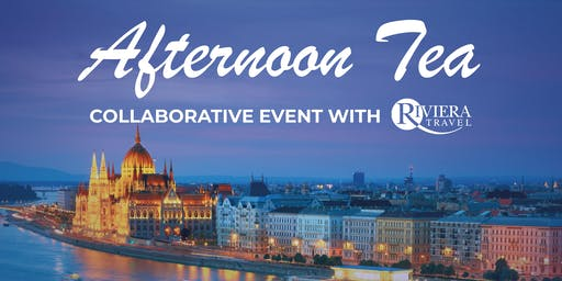 Afternoon Tea in partnership with Riviera Travel