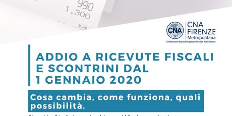 Obbigo invio telematico dei corrispettivi_Borgo biglietti