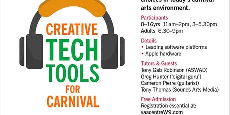 Creative Tech Tools For Carnival tickets