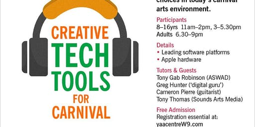 Creative Tech Tools For Carnival