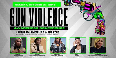 GUN AWARENESS CONFERENCE HOSTED BY DIAMOND P  AND  LHH ATLANTA'S SHOOTER