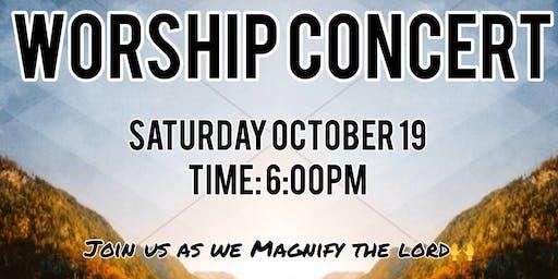 Worship Concert Honoring Pastors Appreciation Month
