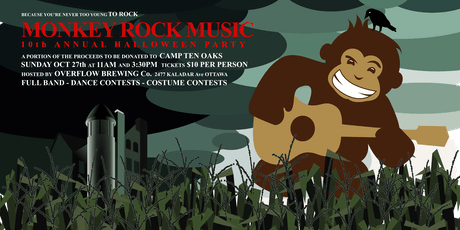 Monkey Rock Music 10th Annual Halloween Party! tickets