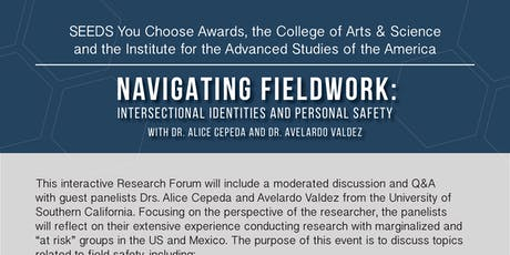 Navigating Fieldwork: Intersectional Identities and Personal Safe tickets