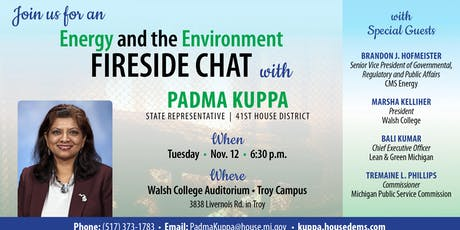 Energy and Enviromental Fireside Chat tickets