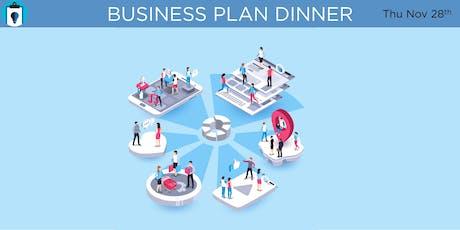 BUSINESS PLAN DINNER tickets