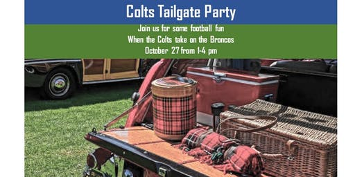 Colts vs. Broncos Tailgate Party