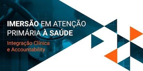 Imersão em Atenção Primária à Saúde - São Paulo ingressos