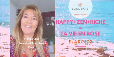 TA VIE EN ROSE Cocktail Coaching Biarritz billets