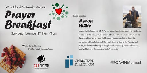 West Island Network Annual Prayer Breakfast