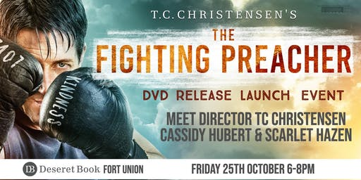 The Fighting Preacher DVD Launch (Fort Union)