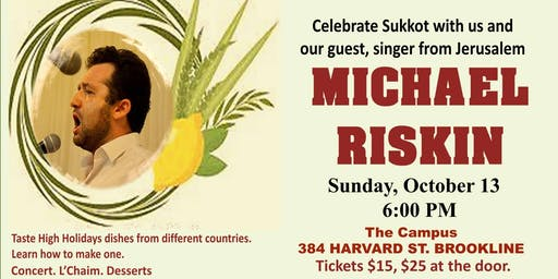 Celebrate Sukkot with Michael Riskin