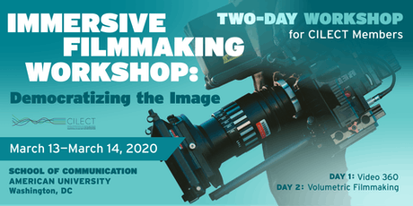 Immersive Filmmaking Workshop: Democratizing the Image tickets