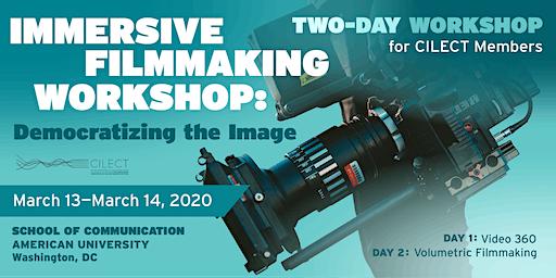 Immersive Filmmaking Workshop: Democratizing the Image