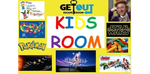 Kids Room (2019-10-14 starts at 3:00 PM)