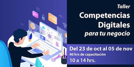 Competencias Digitales para tu negocio entradas
