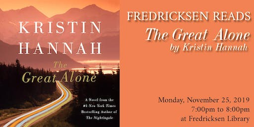 Fredricksen Reads: The Great Alone by Kristin Hannah
