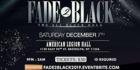 FADE 2 BLACK tickets