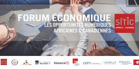 Table ronde sur l'opportunité numérique africaine billets