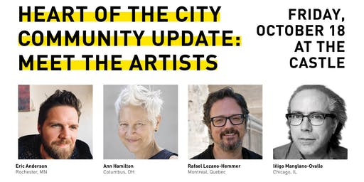 Heart of the City Community Update: Meet the Artists Lunch Presentation