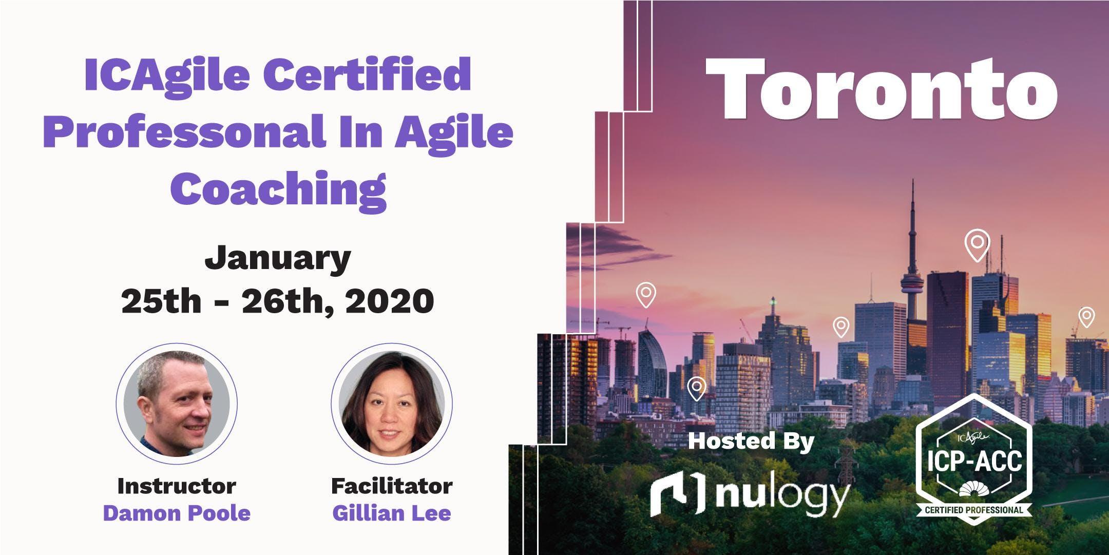 Agile Coach Sydney agile coach workshop with icp-acc certification toronto jan