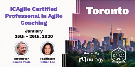 Agile Coach Workshop with ICP-ACC Certification Toronto Jan 25 tickets