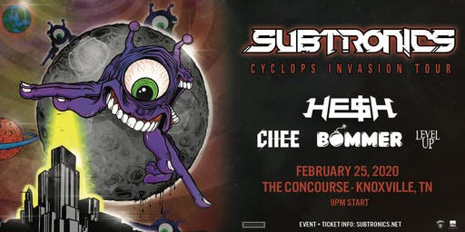 Subtronics: Cyclops Invasion Tour