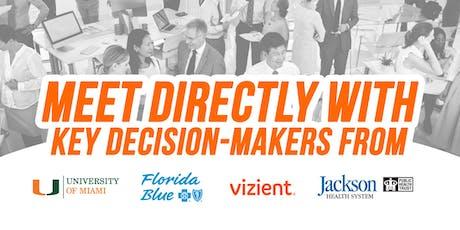 University of Miami, Florida Blue, Vizient & Jackson Health System PowerNet tickets