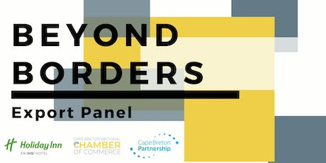 Export Your Product Outside of Nova Scotia: Export Readiness Panel tickets