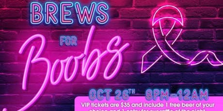 Brews for Boobs tickets